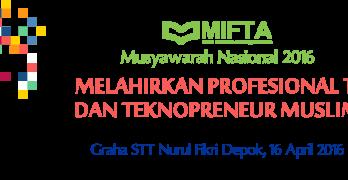 MUSYAWARAH NASIONAL MIFTA 2016